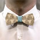 Деревянная галстук-бабочка из фанеры AB005