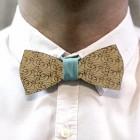 Деревянная галстук-бабочка из фанеры AB010