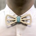 Деревянная галстук-бабочка из фанеры AB020