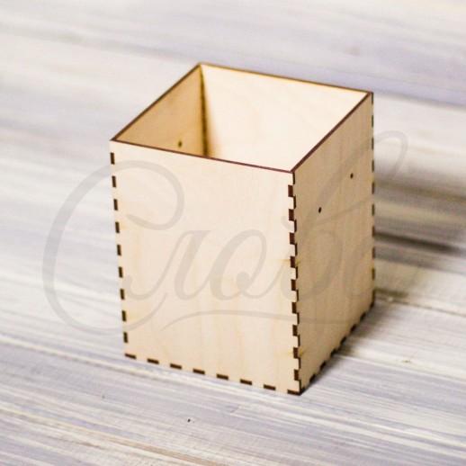 Коробка шляпная без крышки, фанера К002