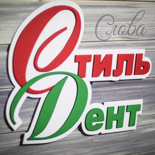 Логотип настенный LN010