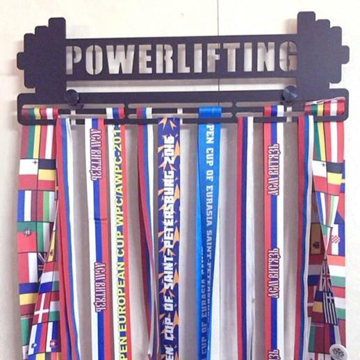 """Медальница """"Powerlifting"""" MD018"""
