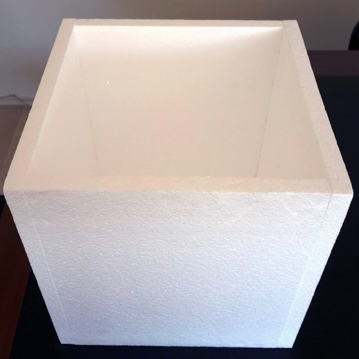 Коробка из пенопласта KP002