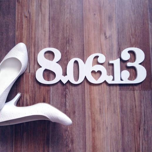 Дата свадьбы DS004