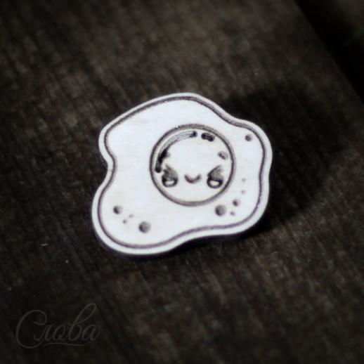 Значок Яичница Z051