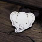 Значок Слон Z120