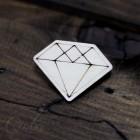 Значок Алмаз Z123